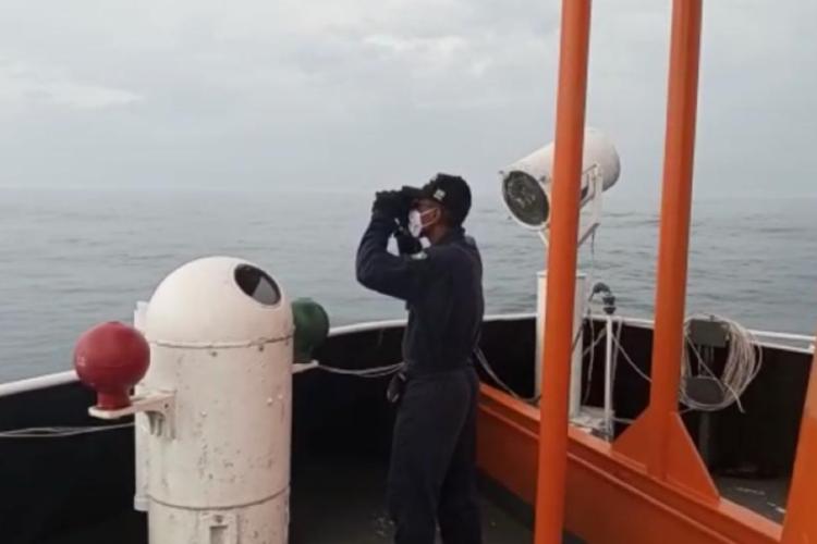 Buscas chegaram ao décimo dia consecutivo nesta terça-feira, 9. (Foto: Divulgação/Marinha do Brasil)