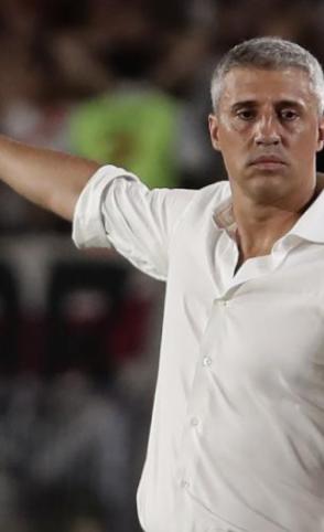 Hernan Crespo assinou contrato de dois anos com o São Paulo (Foto: Alejandro Pagni/AFP)