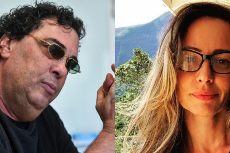 Casagrande criticou Ana Paula por seu apoio a Jair Bolsonaro e a ideais conservadores (Foto: Reprodução/AFP e Instagram)