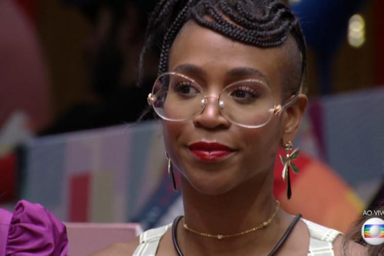 Sarah indicou Karol Conká ao Paredão desta semana. Sister pode ser a próxima eliminada do BBB21. (Foto: Reprodução/TV Globo)