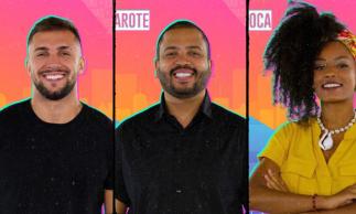 Arthur, Lumena ou Projota? Vote na enquete O POVO e indique o candidato que deve deixar o reality show da TV Globo