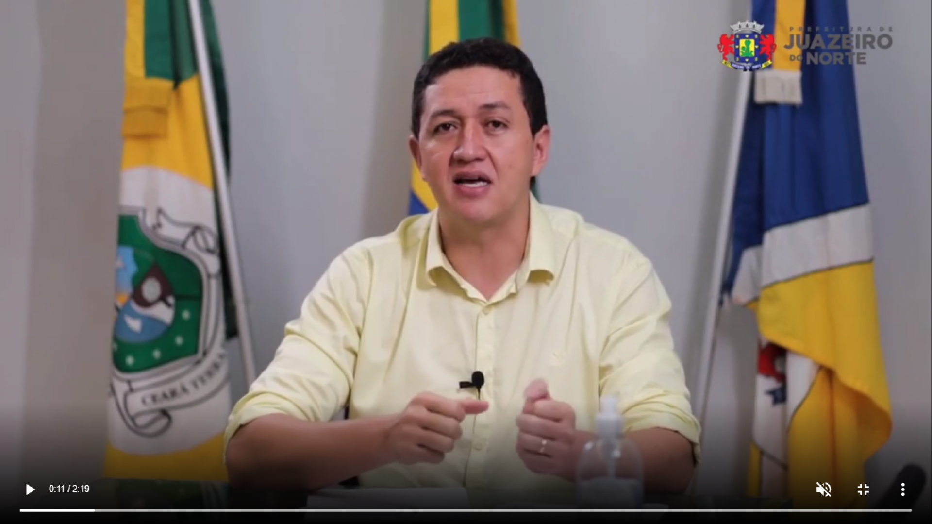 Gledson Bezerra (Podemos) teria praticado abuso de poder econômico na disputa (Foto: Reprodução/Instagram)
