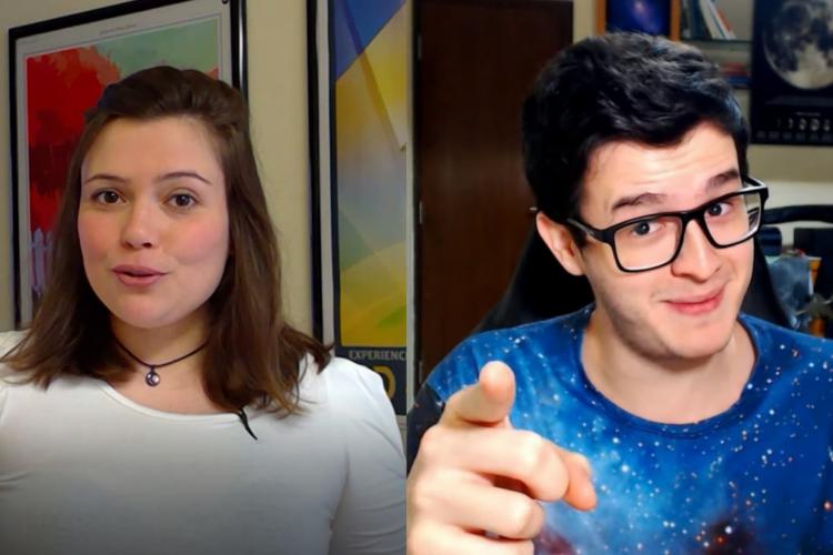 Youtubers divulgam ciência para ensinar de forma divertida (Foto: )