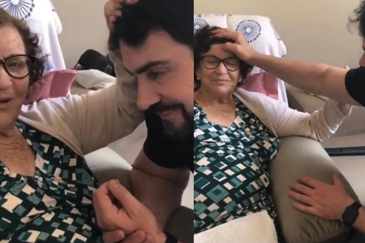 Mãe do padre Fábio de Melo é intubada devido a Covid-19: