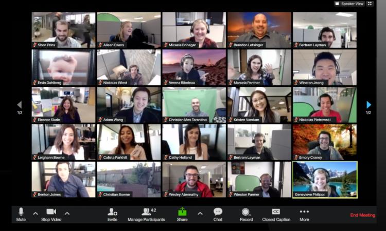 Reunião em formato virtual pode ser mais exaustiva