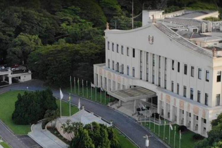 Palácio dos Bandeirantes, sede do governo de São Paulo (Foto: Reprodução/Google Street View)