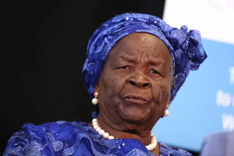A filantropa Sarah Onyango Obama, avó de criação do ex-presidente dos EUA Barack Obama, em foto de 2014 (Foto: Jemal Countess/Getty Images North America/AFP)