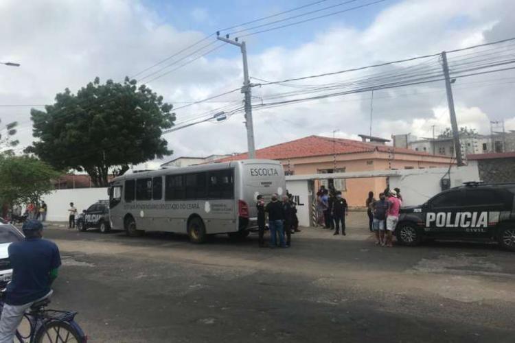 Foto tirada no dia em que a operação Veredas foi deflagrada (Foto: Divulgação/Secretaria da Segurança Pública e Defesa Social)