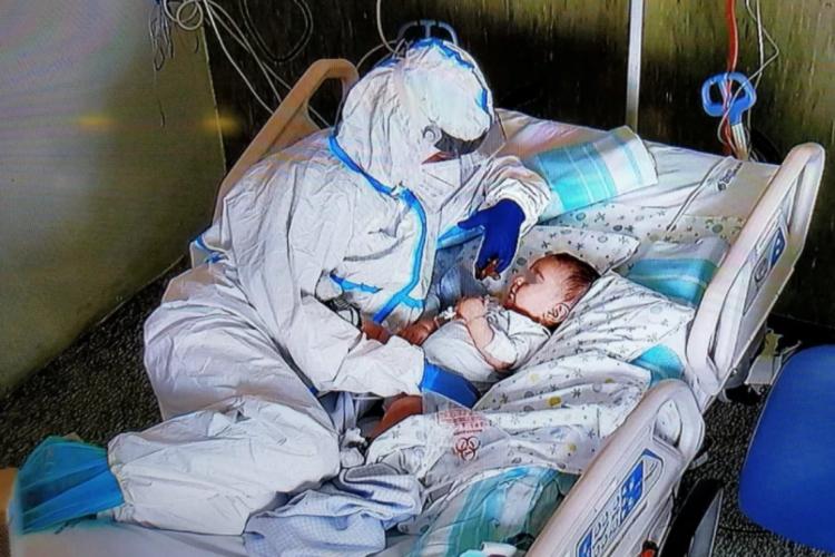 O bebê estava contaminado pelo coronavírus.  (Foto: Reprodução / Instagram )