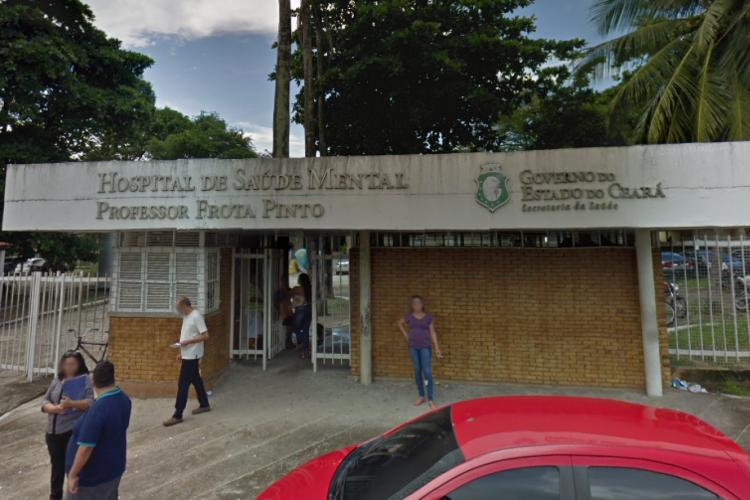 É no Hospital de Saúde Mental de Messejana que acontecem atendimentos a pessoas transgênero há alguns anos; desde 2018, a unidade hospeda o SerTrans (Foto: Reprodução/Google Maps)