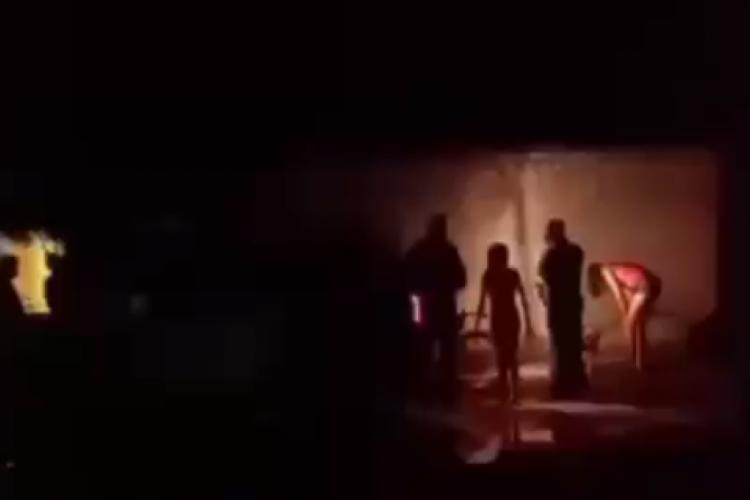 Chacina em Caucaia na noite de domingo (Foto: REPRODUÇÃO/VÍDEO)