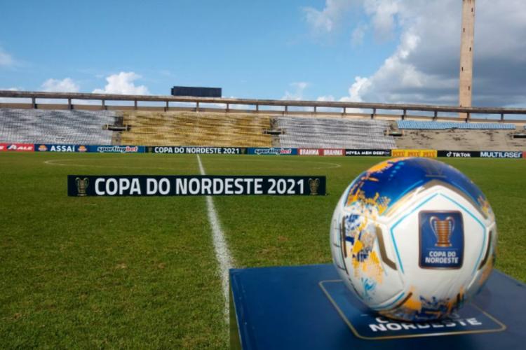 Ceará e Bahia estão na final da Copa do Nordeste (Foto: )