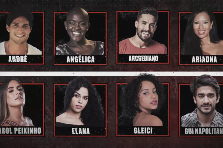 Elenco do No Limite é formado por ex-BBBs: André, Angélica, Arcrebiano, Ariadna, Carol, Elana, Gleici e Gui