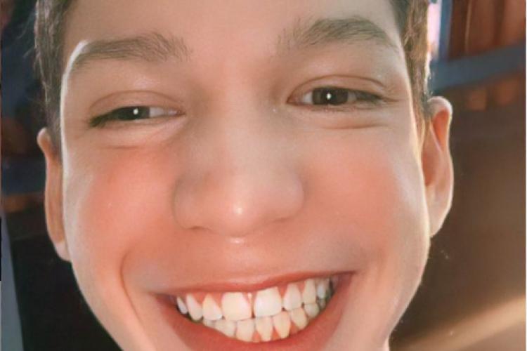 Kaio Kardoso hoje tem 14 anos (Foto: REPRODUÇÃO/INSTAGRAM)