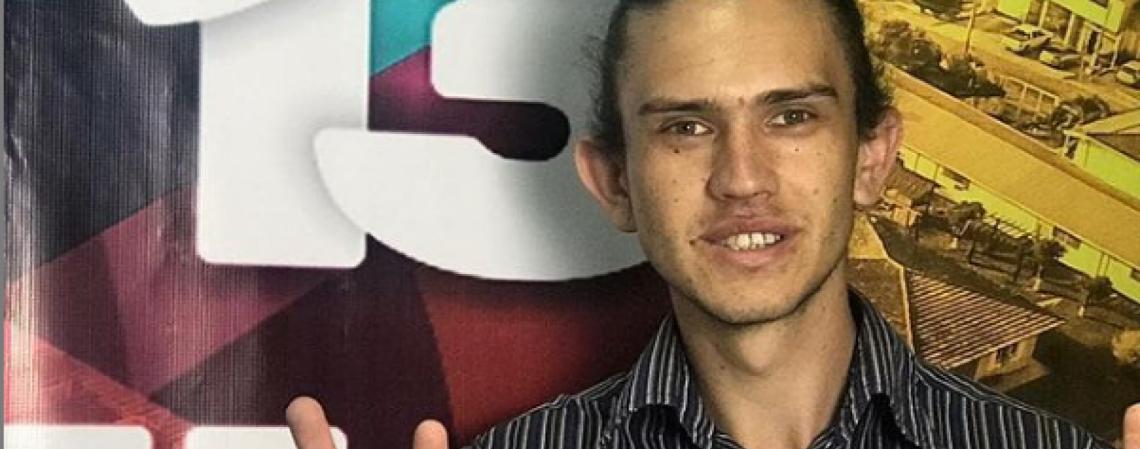 Lindolfo Kosmaski, de 25 anos, foi encontrado morto em Campos Gerais, interior do Paraná. No município, ele foi candidato a vereador pelo PT em 2020  (Foto: Arquivo pessoal )