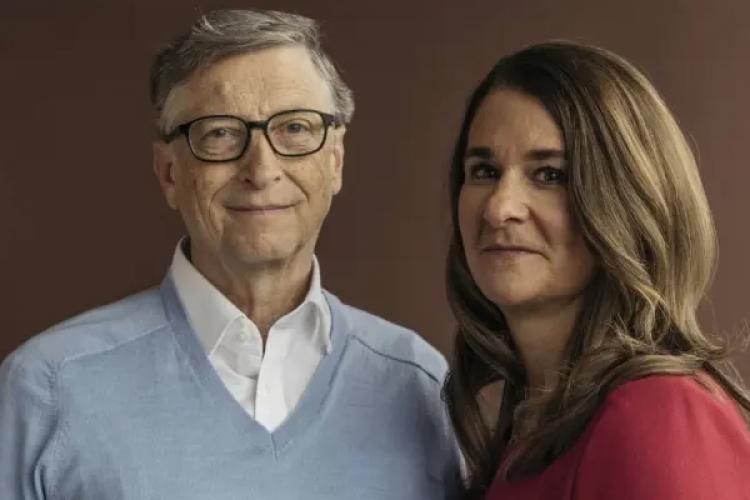 Depois de 27 anos, chegou ao fim o casamento de Bill e Melinda Gates (Foto: Kyle Johnson/The New York Times)