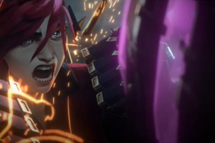 Primeiro teaser de 'Arcane', série baseada no universo de League of Legends, mostra duas personagens icônicas do game (Foto: Reprodução/ Youtube)