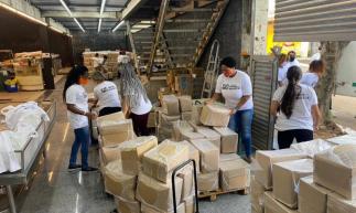 No Rio de Janeiro, duas mil cestas básicas serão entregues a famílias da Favela do Jacarezinho
