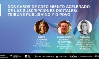 Filipe Dummar, diretor de Estratégia Digital do O POVO, participou de painel
