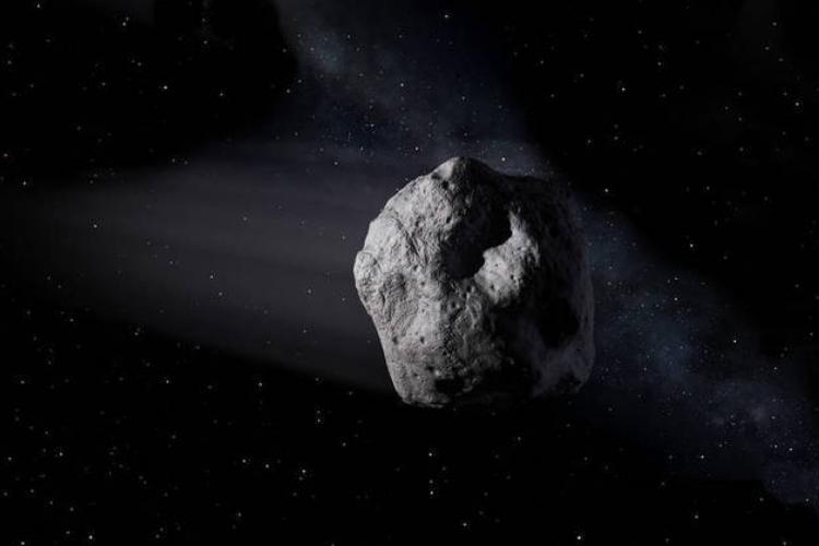 O astro foi considerado um Objeto Potencial Perigoso (OPP) (Foto: NASA / JPL-CALTECH)