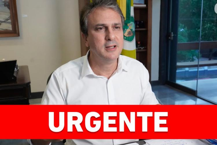 Governador Camilo Santana anuncia novas medidas no Ceará (Foto: REPRODUÇÃO/FACEBOOK/CAMILO SANTANA)