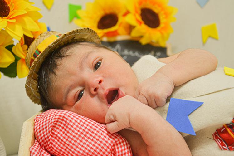A iniciativa proporcionou recordações afetivas que ressignificaram o momento de internação de mães e recém-nascidos (Foto: Reprodução/Governo do Estado do Ceará)