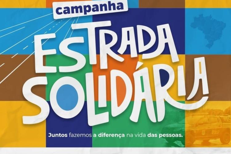Ação faz parte da campanha Estrada Solidária, que busca minimizar os impactos causados pelo coronavírus (Foto: Reprodução)