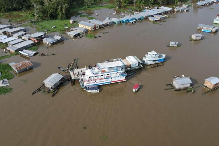 Os repasses incluem cidades nas regiões Norte, Sudeste e Sul (Foto: Agência Amazonas)