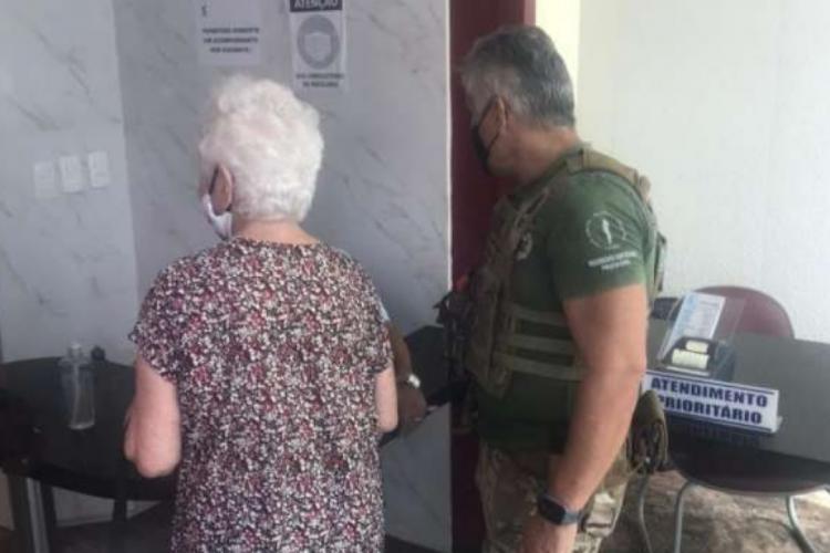 A idosa saiu de casa pela manhã em direção a uma clínica para realização de exames (Foto: Reprodução/SSPDS)