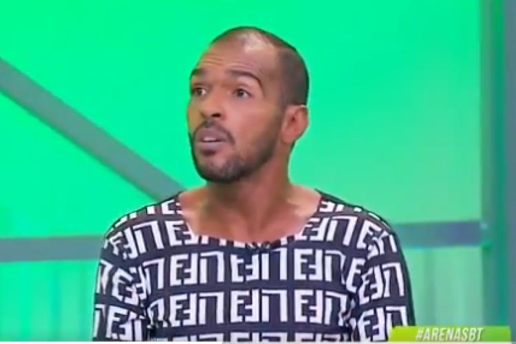 Richarlyson acusou o ex-goleiro Jefferson de ter aceitado mala preta no Brasileirão 2003 (Foto: Reprodução SBT)