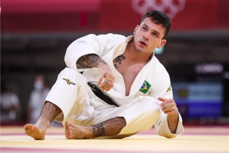 Brasileiro Daniel Gargnin é esperança de medalha para o Brasil ainda nesta madrugada de domingo, 25 (Foto: Gaspar Nóbrega/COB )