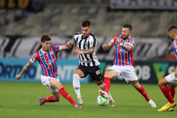 Entre os jogos de hoje, quarta, 28 de julho, Atlético-MG recebe o Bahia pela Copa do Brasil.  (Foto: Pedro Souza/Atlético MG)
