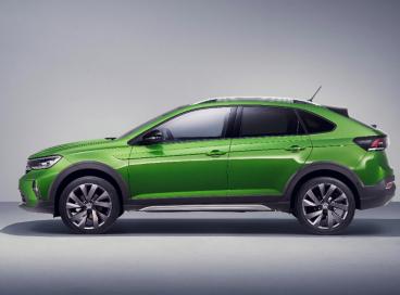 O Taigo é produzido na fábrica da Volkswagen em Pamplona, na Espanha