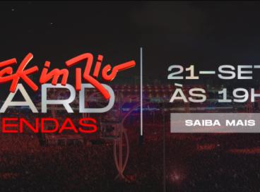 Nona edição do Rock in Rio ocorrerá nos dias 2, 3, 4, 8, 9, 10 e 11 de setembro de 2022. Ingressos para o público geral começam a ser vendidos hoje, 21 de setembro (21/09), a partir das 19h