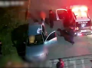 Suspeito foi preso em flagrante pela Polícia Militar
