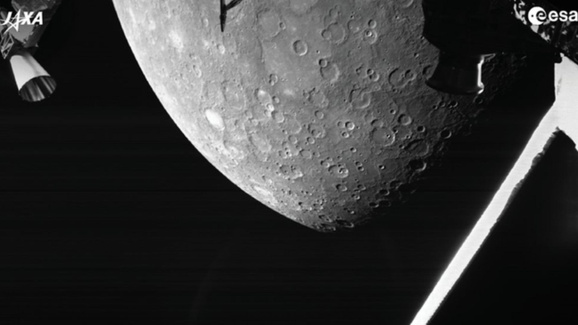O que revelam as primeiras imagens da BepiColombo sobre o planeta mais próximo da Terra?