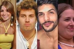 Da esquerda para direita: Natália Nara, Roberta Brasil, Rafael Memória, Lucas Fernandes, Patrícia Leitte e Kerline Cardoso