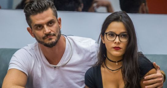 Emily e Marcos (Foto: Reprodução) Globo Big Brother Brasil BBB