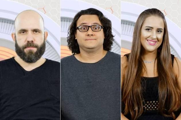 Caruso, Diego e Patrícia