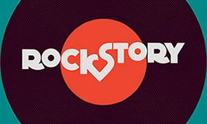Logo da novela Rock Story