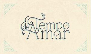 Logo da novela Tempo de Amar