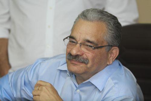 Presidente Mauro Carmélio participa de reunião na CBF (Foto: )