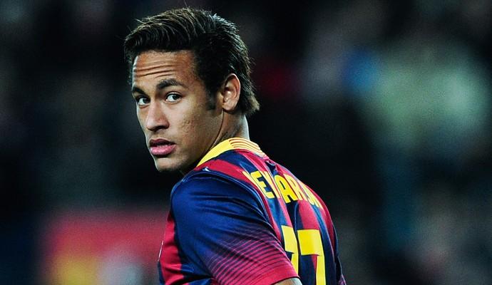 Neymar em ação durante jogo do Barcelona (Foto: )