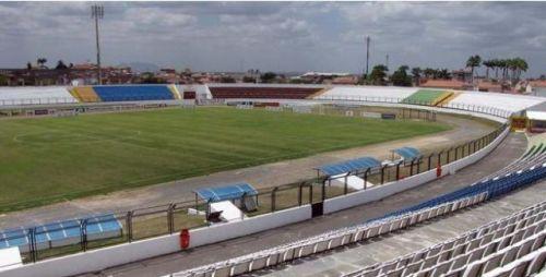 Estádio do Junco vazio (Foto: )