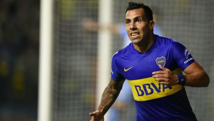 Tévez é ídolo do Boca, seu atual clube  (Foto: AFP)