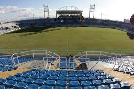 Estádio Presidente Vargas, em ângulo amplo e reverso