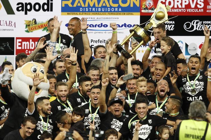 eff9785f3b751 Jogadores do Ceará receberão R$ 300 mil de premiação por título ...