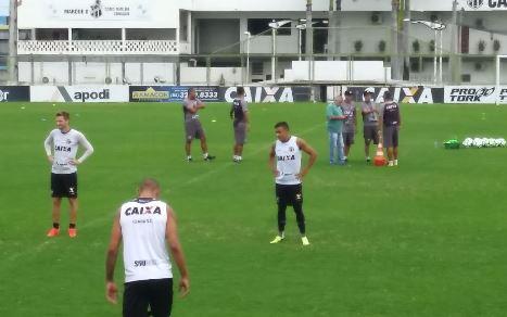 Santos derrota o Ceará no Pacaembu — Brasileirão