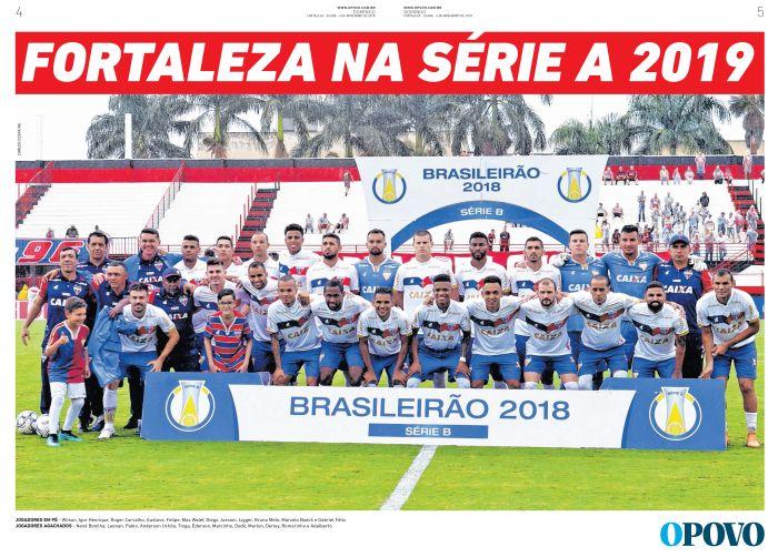 Resultado de imagem para fortaleza na serie a 2019