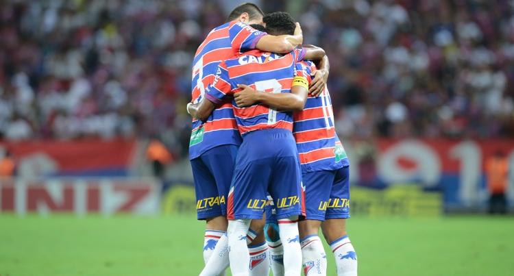 Tricolor conquistou o título com duas rodadas de antecedência. Foto: Julio Caesar/O POVO
